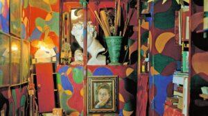 locandina di MAXXI di Roma, mostra su Giacomo Balla e visite alla casa