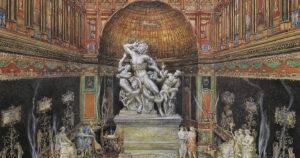 locandina di La Domus Aurea di Roma riapre con una mostra su Raffaello