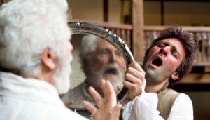 locandina di Falstaff e le allegre comari di Windsor al Globe Theatre di Roma