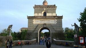 locandina di Visita guidata al Ponte Milvio a Roma alla scoperta della sua storia