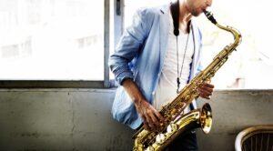 locandina di Jazz & Image a Roma con concerti di fronte al Colosseo
